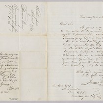 James Wilson to Abraham Lincoln regarding endorsement of Thomas Gray