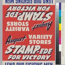 August Variety Stores Stampede For Victory: Lend our fighting men A Hand ...