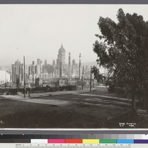 25. [Ruins of City Hall and vicinity. From Van Ness Ave.?]
