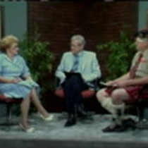 1987 Scottish Gathering and Games, with John Burton and Elsie Stuehmeyer