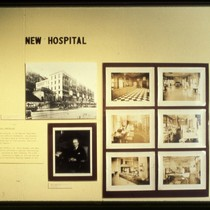 "UCSF Origins of Excellence exhibit ""New Hospital"""