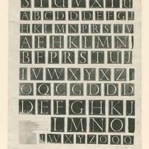 Alphabet of Initial Letters
