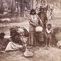 604. Washoe Indians--The Chief's Family