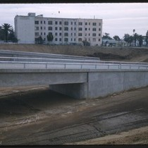 Construction of freeway ramp