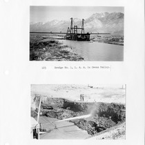 Dredge No. 1, Los Angeles Aqueduct & Operation of jet, normal cut