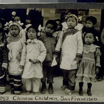 Chinese Children, San Francisco. J293. [Post card.]