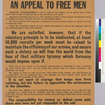 The Crisis: An appeal to free men