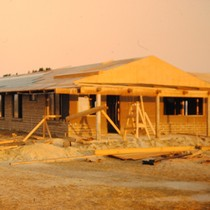 Agbayani Village during construction, Image 2