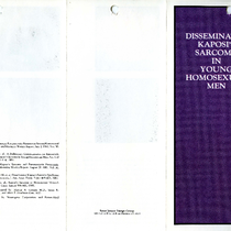 Disseminated Kaposi's Sarcoma in Young Homosexual Men brochure