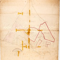 Map of A. Forbes' Rancho, Adjoining the Town of SAn Rafael, Marin ...