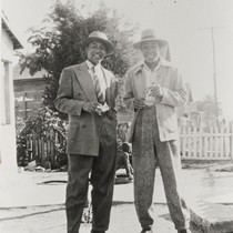 Bedford and Forrest Pinkard at home, 405 East Second St., Oxnard : ...