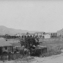 Ruins of Mission San Juan Capistrano, 1868
