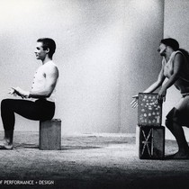 "A.A. Leath and Simone Forti in Halprin's ""Four Square"""