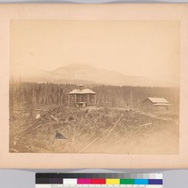 [Block house, Upper Cascades, Columbia River: scene of a massacre of whites ...
