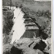 Don Pedro Dam, North End, August 10, 1992