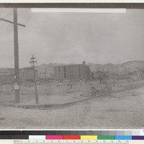 13th [Thirteenth] & Harrison. N.E. [Construction of temporary structures.] [Photo from the ...