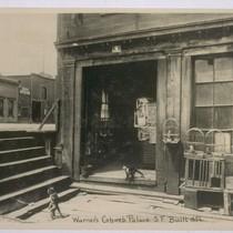 Abe Warner's Cobweb Palace, a Saloon (formerly a butcher shop), 1856. Francisco ...