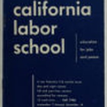 California Labor School 1946 fall term catalog