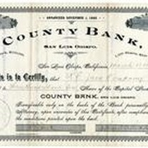 310 Shares of County Bank Stock to R.E. Jack Company