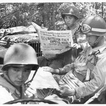 The Japanese-Americans who compose the 442nd combat team in training at Camp ...