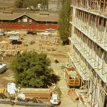 Site prior to Briggs Hall construction