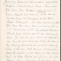 Benjamin Silliman II, letter, 1880 Apr. 6, to Faith W. Hubbard (née ...