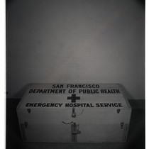First aid box, closed