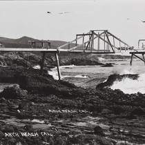 B.F. Conaway photograph of Arch Beach, Calif
