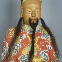 Altar figure, Confucius or representative of Chan ancestral spirit