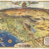 Historic roads to romance: California's Southern empire, tourist paradise, 1946