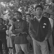 Audience, Free Huey Rally, at DeFremery Park, Oakland, CA, #8 from A ...