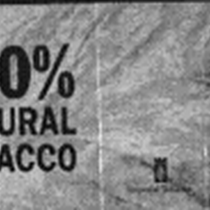 100% Natural Tobacco