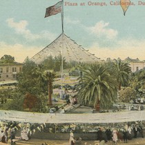 1910 Street Fair at Orange, California