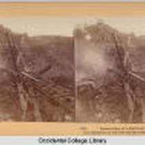 Destruction of Railroad Bridge