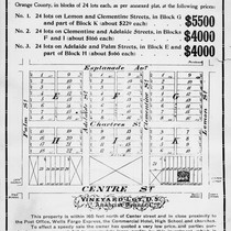 Advertisment of Anaheim Property for Sale by H. Deutxch [graphic]