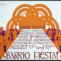Barrio Fiesta, Announcement Poster for