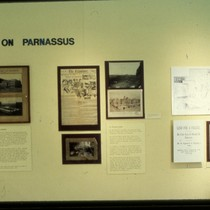 "UCSF Origins of Excellence exhibit ""Arrival on Parnassus"""