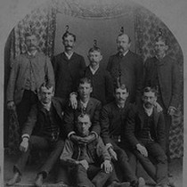 1888 Gentlemen's Group, Porterville, Calif