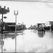 Flood of 1938, Los Angeles Street, Anaheim [graphic]