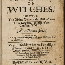 Annotations in A perfect discovery of witches.