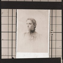Negative of Alice Chase Dudley