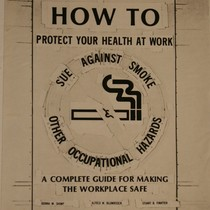 Draft cover layout of How to Protect Your Health at Work