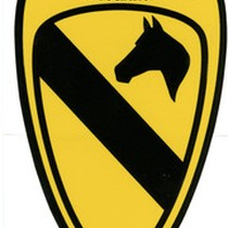 1st Cavalry Division Association Cavalry insignia