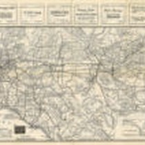 California Automobile Road Map, 1914