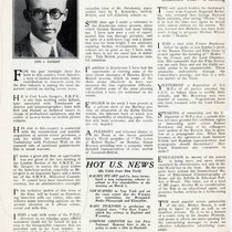 1930 article on Carl Louis Gregory