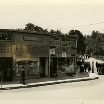 Crocker Building, Main Street (Broadway) Fairfax, Marin County, California, circa 1922 [photograph]
