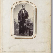 [Bearded man, circa 1865.]