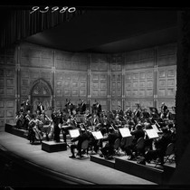 1955 performance of Los Angeles Doctors' Symphony