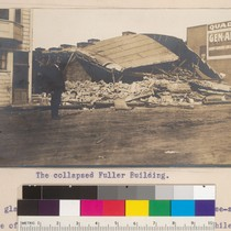 What the Earthquake did at Palo Alto, and Afterwards; An Illustrated Letter