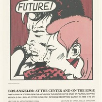 Los Angeles: at the center and on the edge, Vallen poster